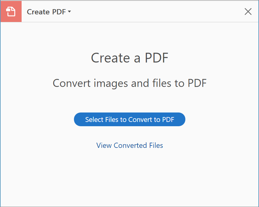 create pdf with adobe