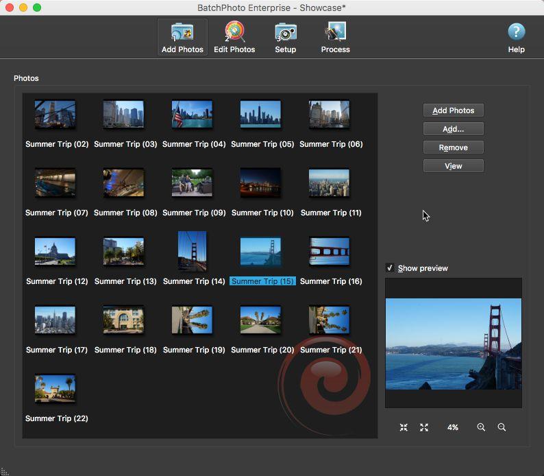 add photos to batchphoto