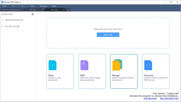 movavi pdf editor windows main