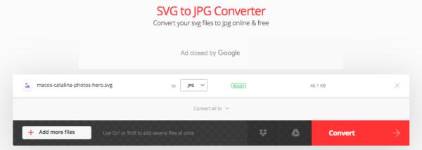 svg to jpg mac convertio