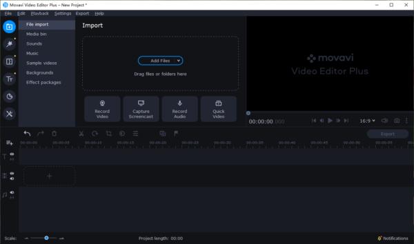 add music to video movavi01