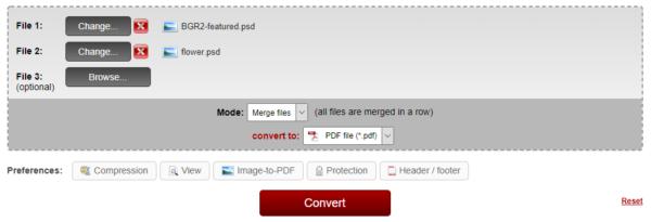 online psd to pdf