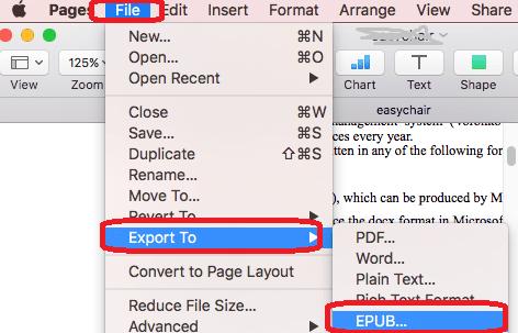 pages epub