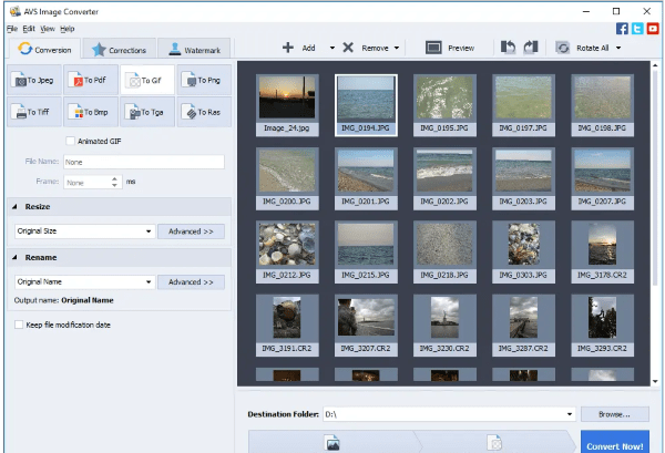 avs free raw to jpeg converter