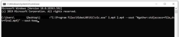 combine video vlc07