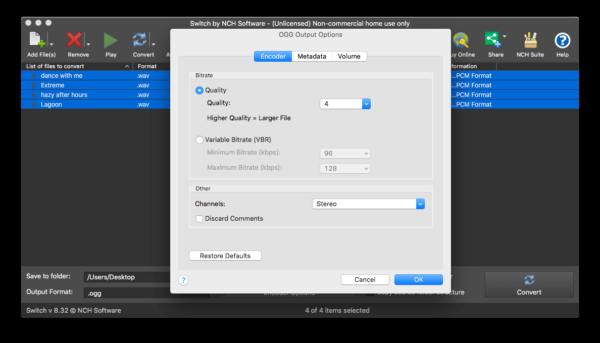 output encoder