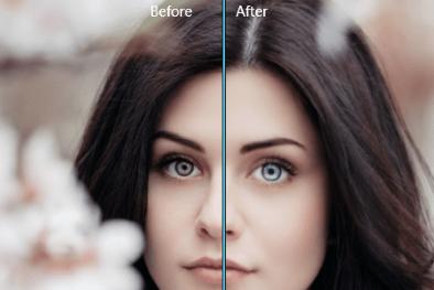 change eye color image