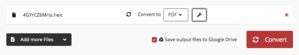 heic to pdf google 3
