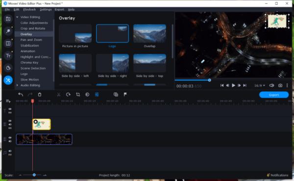 overlay pic video movavi 3