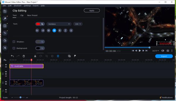 add watermark to video movavi 3
