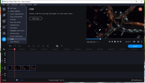 add watermark to video movavi 4