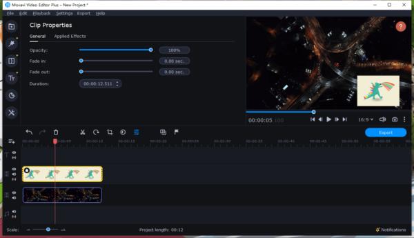 add watermark to video movavi 5