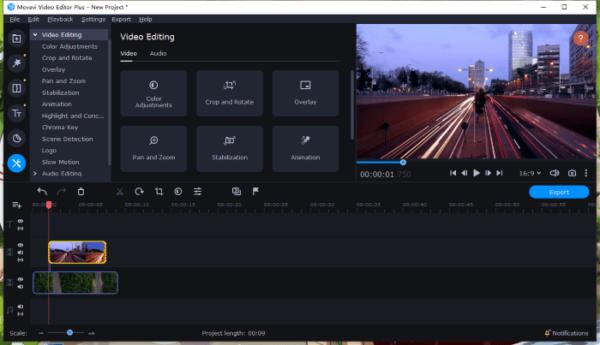 overlay video on video movavi 1