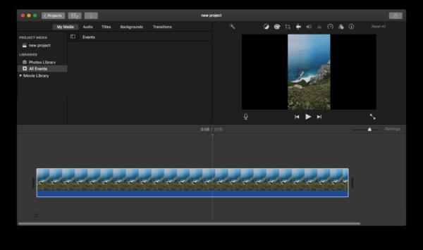 remove black bars from video imovie 2
