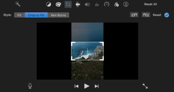 remove black bars from video imovie 4