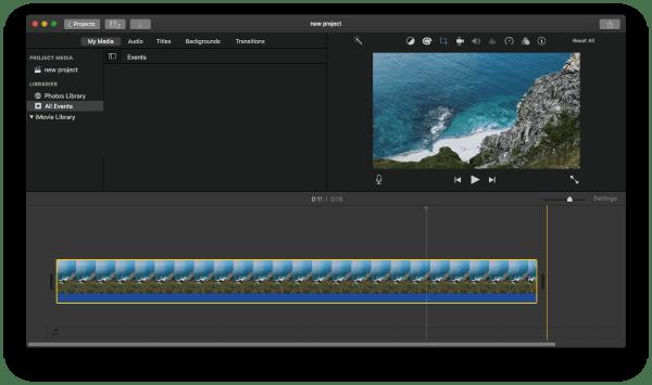 remove black bars from video imovie 5