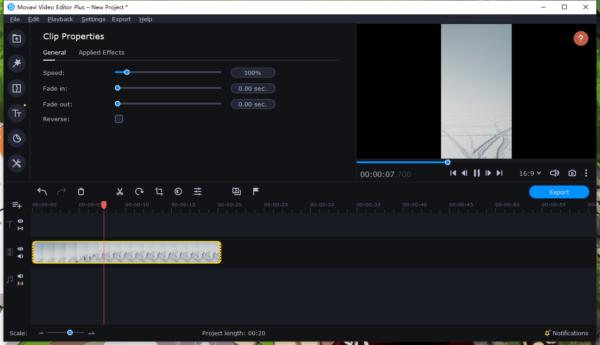 remove black bars from video movavi 1