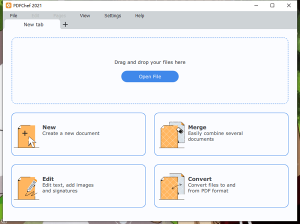 add blank page to pdf movavi 1