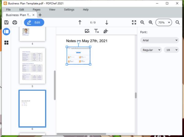 add blank page to pdf movavi 5