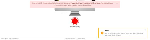 screen record limit