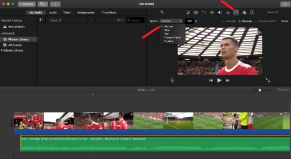 sync audio video imovie 4